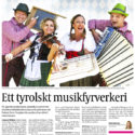 Ett tyrolskt musikfyrverkeri