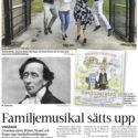 Familjemusikal sätts upp i folkparken